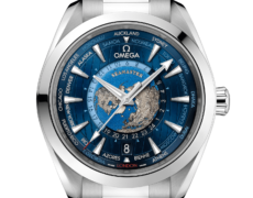 SEAMASTER AQUA TERRA 150 M OMEGA CO-AXIAL MASTER CHRONOMETER GMT WORLDTIMER 43 MM
